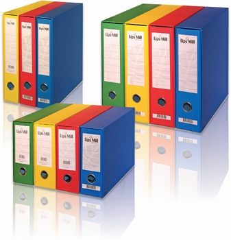 Registrator, A4, uski, Lipa Mill, žuti