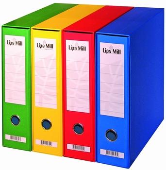 Registrator, A4, široki, Lipa Mill, crveni