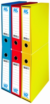 Registrator, A4, uski, AS Office, plavi