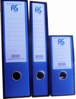 Registrator, A5, široki, AS Economy, plavi