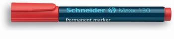 Marker permanentni,  Schneider, 130, crveni  KOMAD