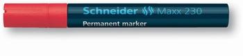 Marker permanentni,  Schneider, 230, crveni