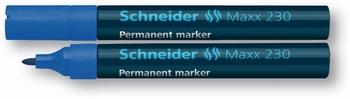 Marker permanentni,  Schneider, 230, plavi