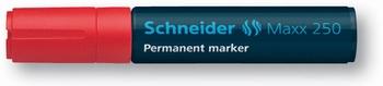 Marker permanentni,  Schneider, 250, crveni  KOMAD