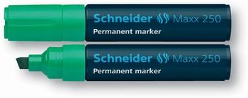 Marker permanentni,  Schneider; 250, zeleni