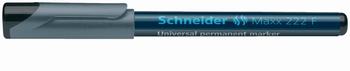 Marker, Schneider 222, crni  KOMAD