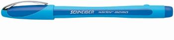 Kemijska olovka, Schneider, Slider memo, plava