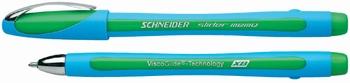 Kemijska olovka, Schneider, Slider memo, zelena