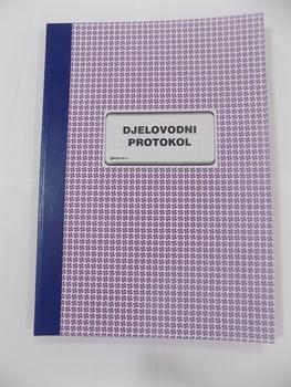 Djelovodni protokol,  B4 format, 100l