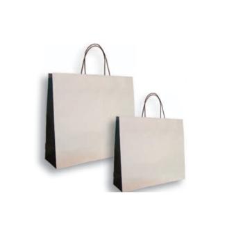 Vrećica papirna  42x13x37+6  KOMAD