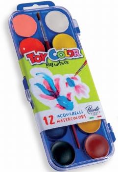 Bojice vodene, 12 boja, Toy Color  KOMAD
