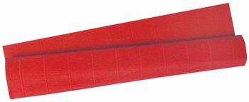 Krep papir, 0,5x2m, crveni