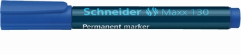 Marker permanentni, Schneider, 133, plavi  KOMAD