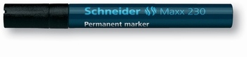 Marker permanentni, Schneider, 230, crni