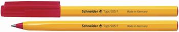 Kemijska olovka, Schneider, 505F, crvena