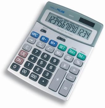 Školski kalkulator MILAN, 40924BL  KOMAD