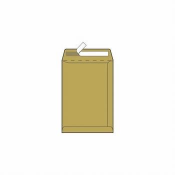 Kuverta vrećica, 229x234mm, žuta