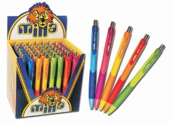 Kemijska olovka, MILLA, sorto boje