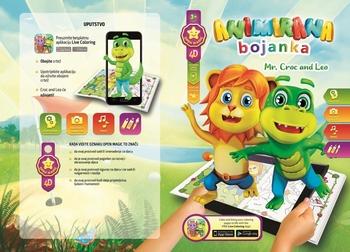 Bojanka CROC AND LEO, 4D