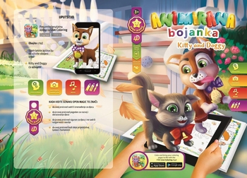Bojanka  KITTY AND DOGGY, 4D