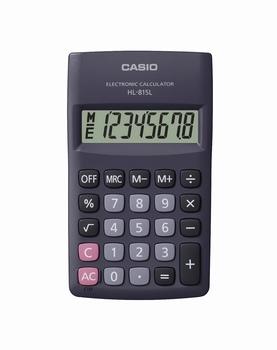 Džepni kalkulator CASIO, HL-815L-BK-S-GP