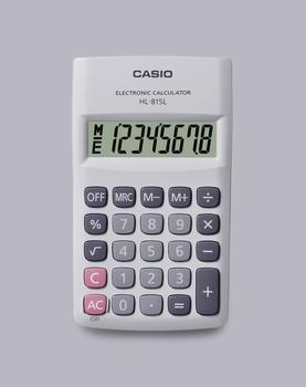 Džepni kalkulator CASIO, HL-815L-WE-S-GP