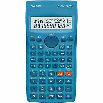 Znanstveni kalkulator CASIO, FX-220PLUS-S-EH