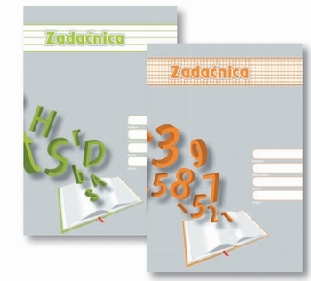 Zadaćnica-vježbanka pisanska A4  KOMAD