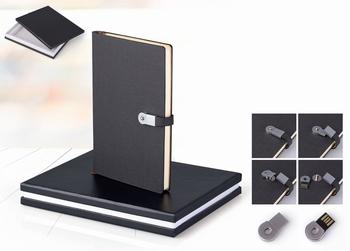 SET U KUT.IDEA LUX (ROKOV.A5+USB 16GB+KEM.O) T.SIVA 8028.11   KOM