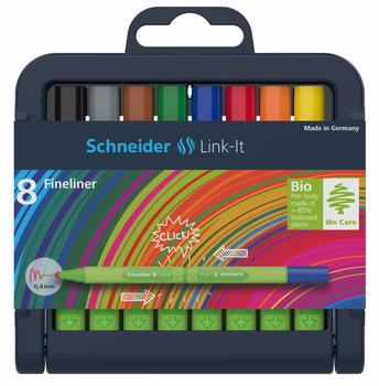Fineliner LINK IT 191298 SCHN.  kom