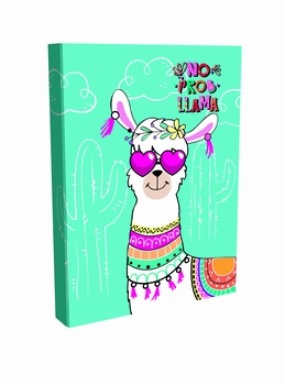 Bilježnice Lama lux, Hologram laminacija, A5/dikto/100 lista  kom