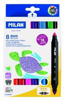 Flomasteri obostrani, 16 boja, Milan