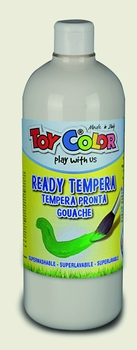 BOJICA TEMPERA BIJELA 1000 ML TOY COLOR  kom