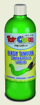 BOJICA TEMPERA ZELENA 1000ML TOY COLOR  kom