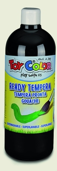 BOJICA TEMPERA CRNA 1000ML TOY COLOR