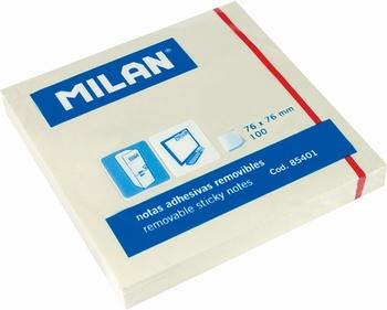 BLOK POST-IT 76X76 100L 85401 MILAN  KOMAD