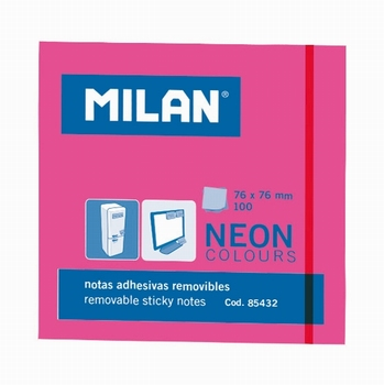 BLOK POST-IT   PINK  MILAN  KOMAD