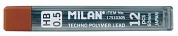Mine za tehničku olovku, 0,5mm mine, Milan