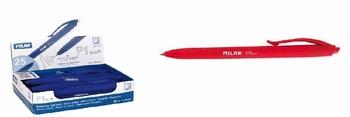 Kemijska olovka, P1 TOUCH,Milan, crvena  KOMAD