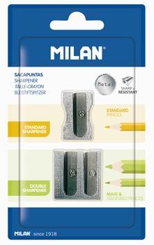 ŠILJILO METALNO BLISTER 2/1 BWM9079 MILAN  KOMAD