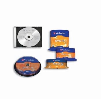 DVD-R 4,7GB, 10/1, VERBATIM