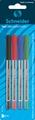 Kemijska olovka blister,  Schnider, 505 M