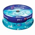 CD-R 700MB 52X EXTRA PROT.CAKE 25/1 43432 VERBATIM