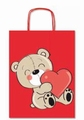 Vrećica ukrasna medo sa srcem SDX26-091A SADOCH