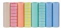 Papir omotni u roli EC3J1E pastelne boje sa motivima SADOCH