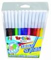 Flomasteri,  12 boja, Toy color